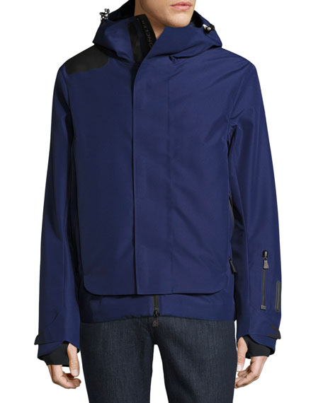 Moncler Grenoble Valberg Ski Jacket, Blue