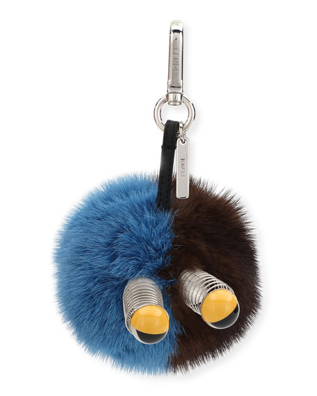 Fendi Fur Spring Eyes Charm for Bag or