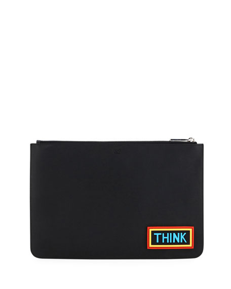 Think Vocabulary Leather Pouch