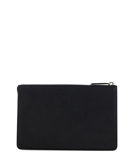 Think Vocabulary Leather Pouch with Handle