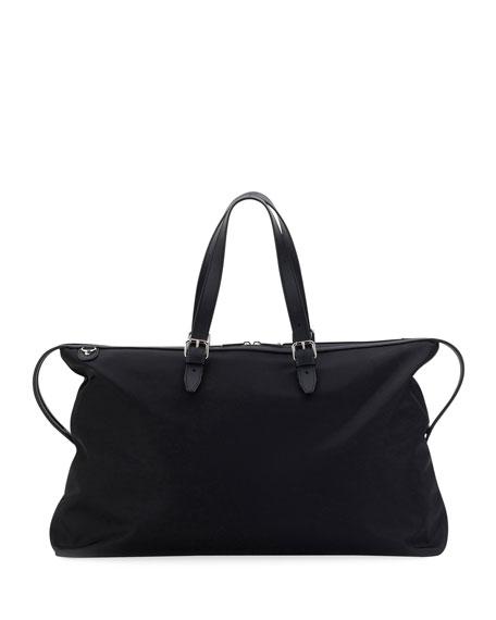 Vocabulary Nylon & Leather Travel Duffle Bag