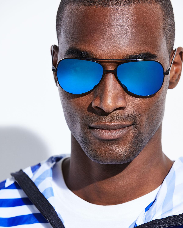 Sunglasses SWING titanium blue flash Vuarnet QJILhG7