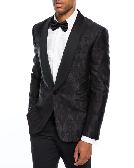 Ralph Lauren Beacon Jacquard Dinner Jacket