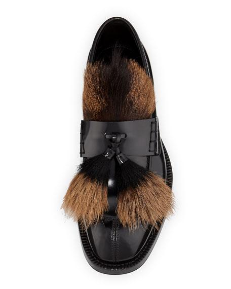 Prada Fur Tassel Loafers GQy20v83j6