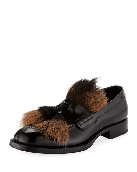 Prada Fur loafers New Styles Cheap Online 44ST5bGh