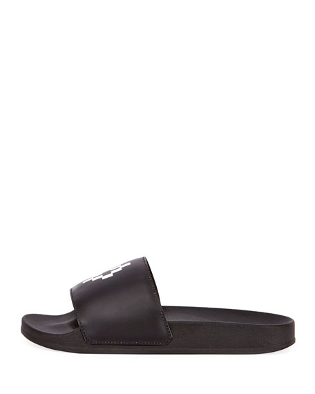 Bai Leather Pool Slide Sandal