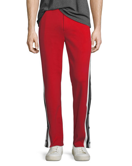 Neil Barrett Break Away Side-Stripe Track Pants