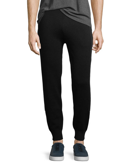 Neil Barrett Jogger Pants w/ Racing Stripes
