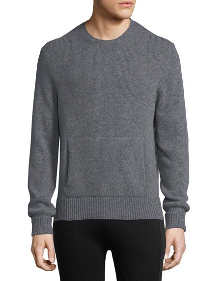 Neil Barrett Crewneck Sweater w/ Side Slits