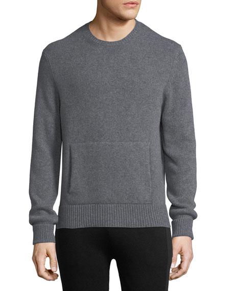 Neil Barrett Crewneck Sweater w/ Side Slits