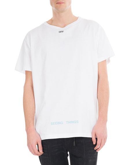 Big Square Cotton T-Shirt