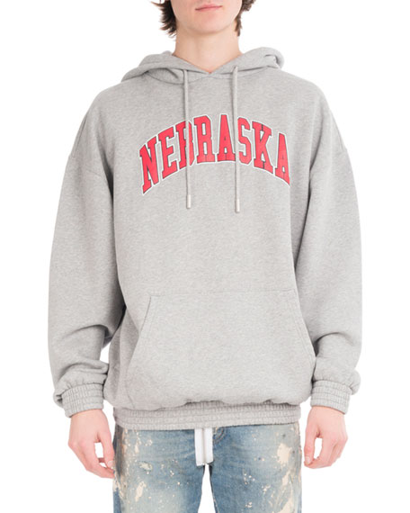 Off-White Nebraska Cotton Pullover Hoodie