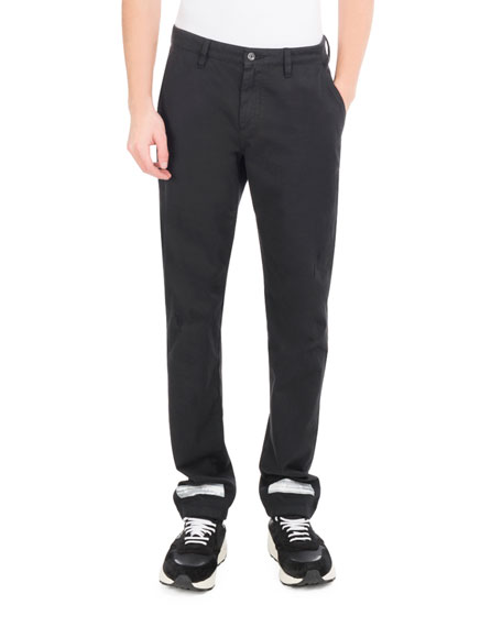 Off-White Brushed Diagonal Arrows Chino Pants