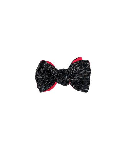 1001 Nights Wool & Lurex® Bow Tie