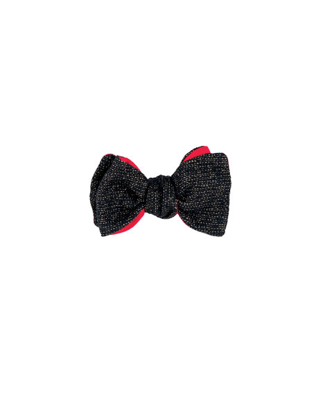 1001 Nights Wool & Lurex® Bow Tie