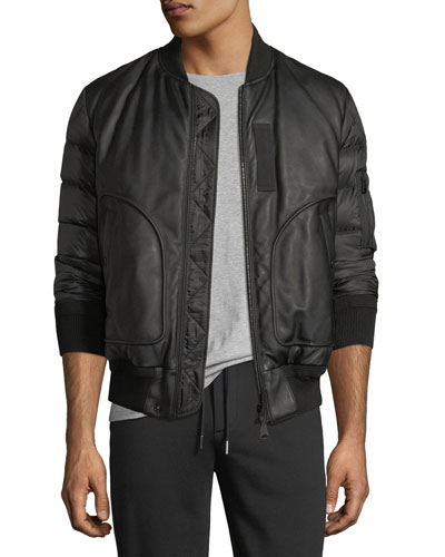 Bertrand Leather Jacket
