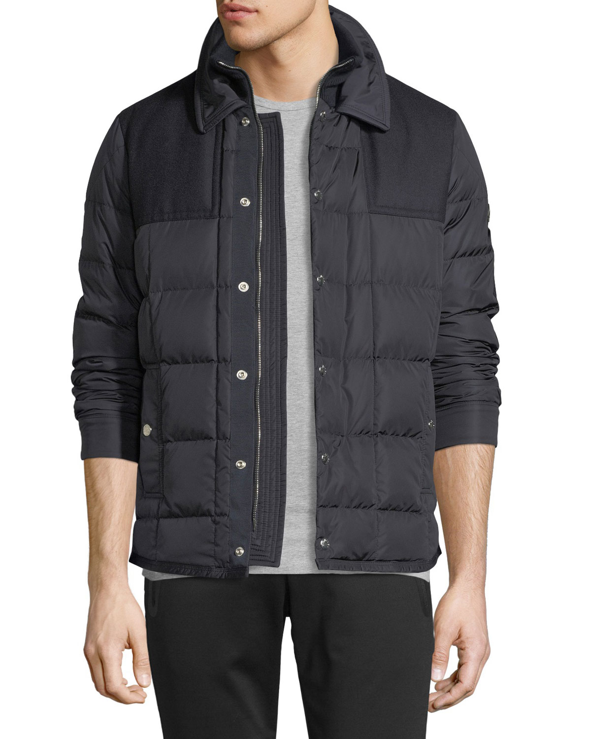 Quick Look. Moncler · Clovis Quilted Utility Jacket