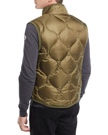 Canut Quilted Nylon Vest
