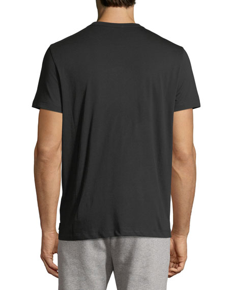 Leather Logo T-Shirt