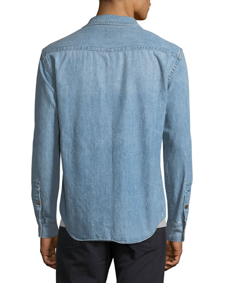 Faded Denim Shirt