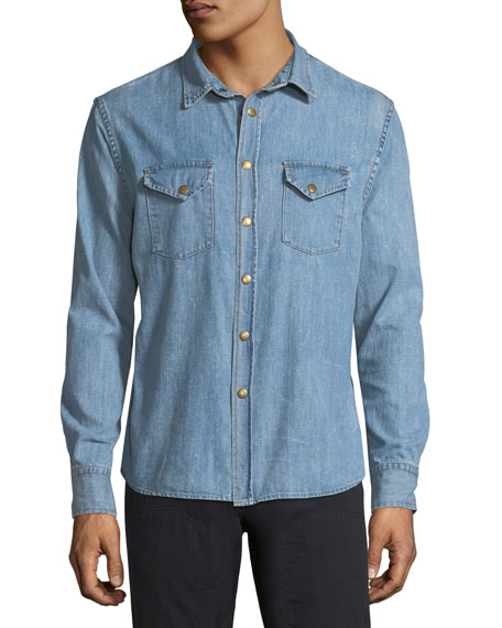 Faded Denim Shirt