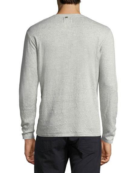 Cullman Cotton-Blend Henley T-Shirt