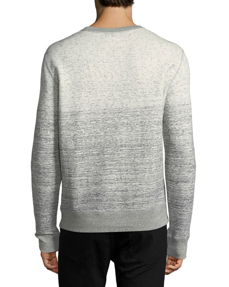 Gradient Cotton Sweatshirt