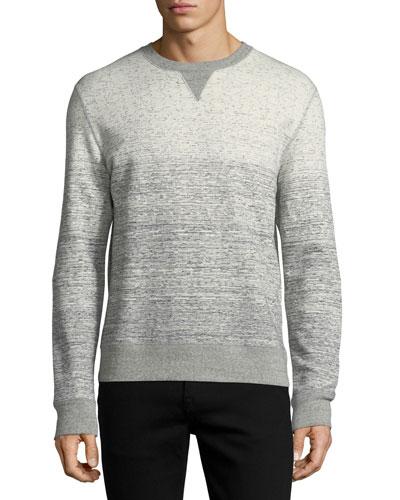 Gradient Cotton Sweatshirt