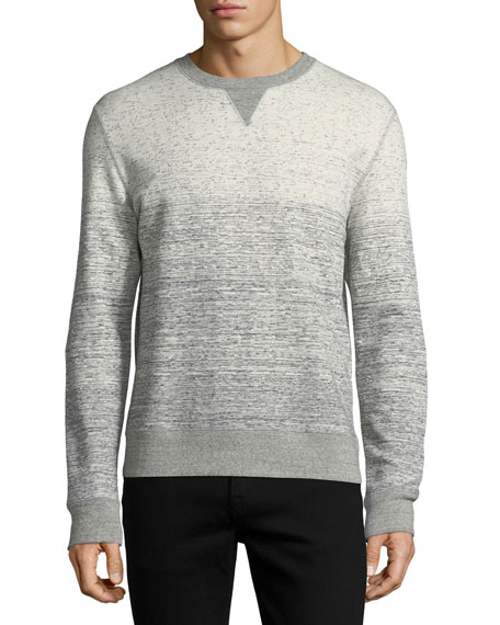 Billy Reid Gradient Cotton Sweatshirt