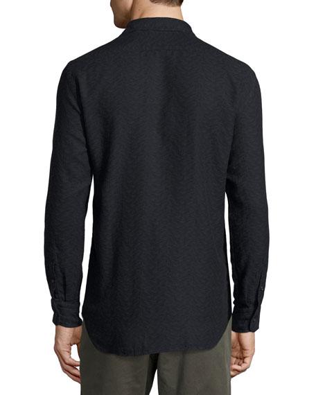 John T Standard-Fit Shirt, Navy