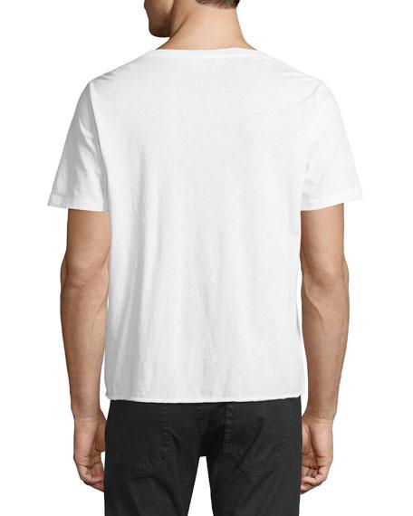 Universite Vintage-Effect Graphic T-Shirt