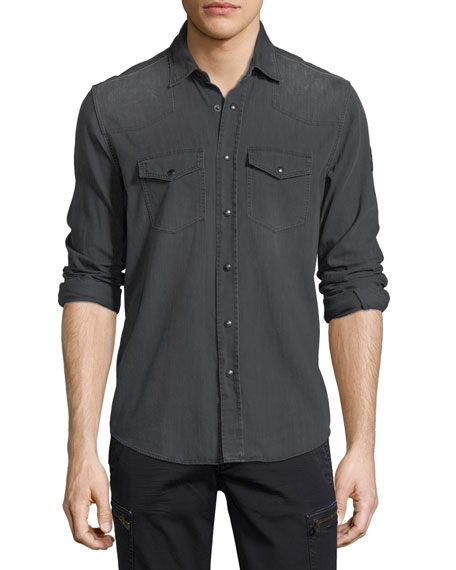 Somerford Denim Western Shirt