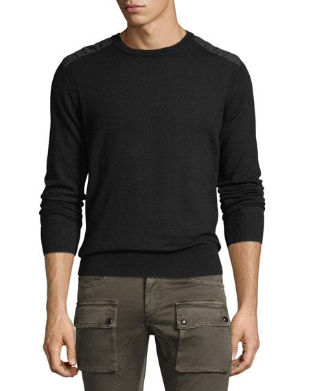 Belstaff Kerrigan Cotton Crewneck Sweater