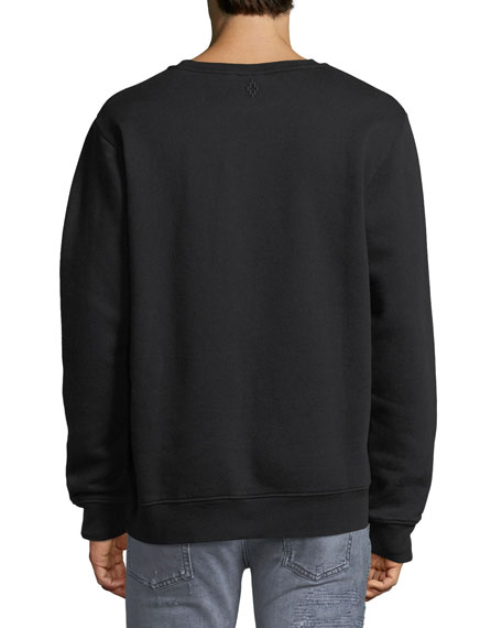Puelce Feather Crewneck Sweatshirt