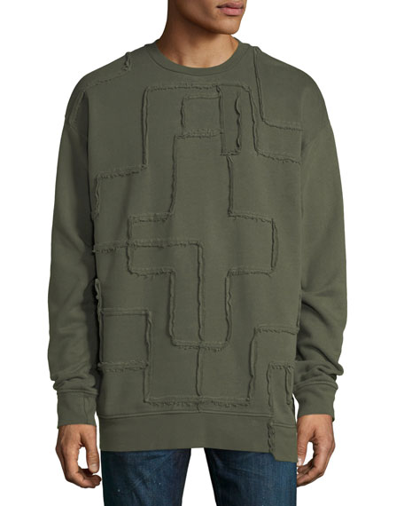 Marcelo Burlon Military Crosses Sweatshirt