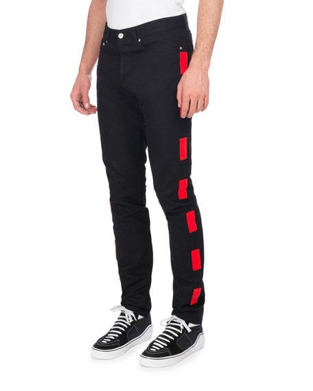 Givenchy Dash-Stripe Skinny Jeans