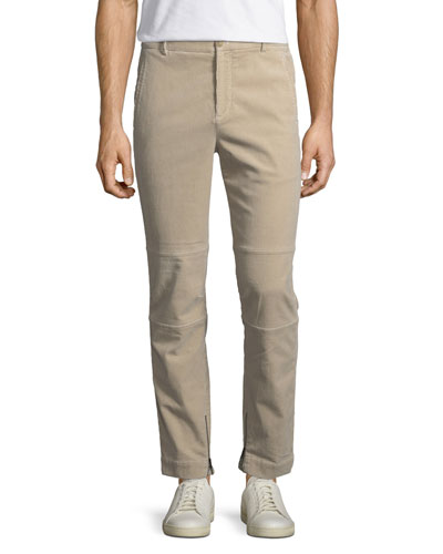 Garment-Wash Corduroy Utility Pants