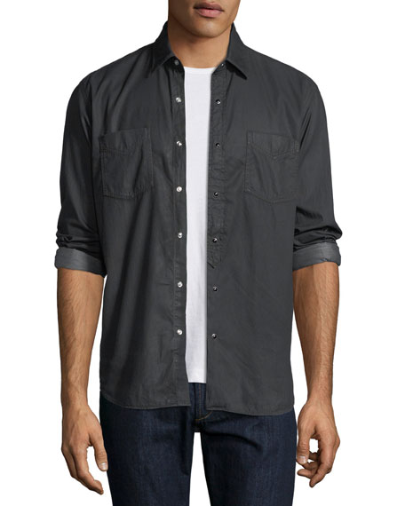 Culturata Special Resin-Wash Western Shirt