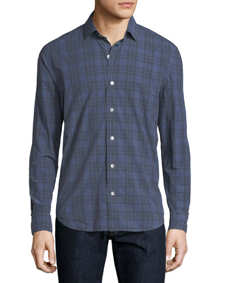 Culturata Plaid Cotton Shirt