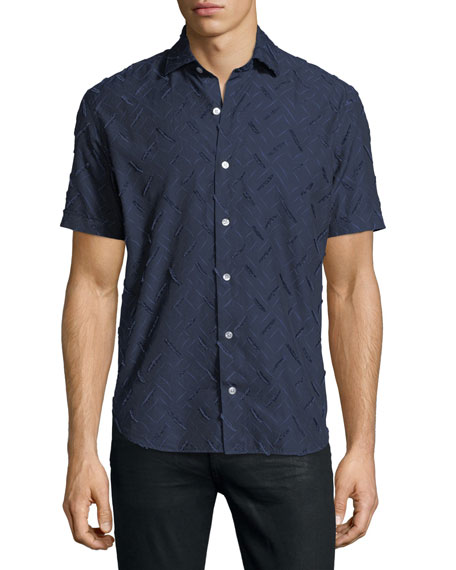 Culturata Fil Coupe Short-Sleeve Shirt