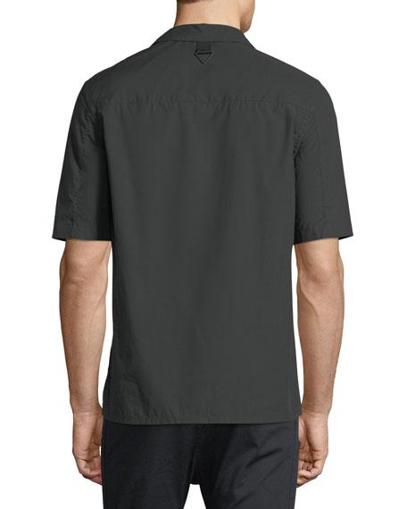 Bar-Tab Short-Sleeve Shirt