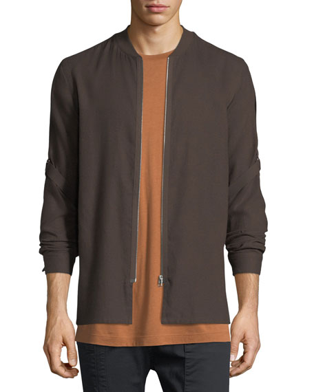 Helmut Lang Cotton-Wool Bandage-Strap Shirt