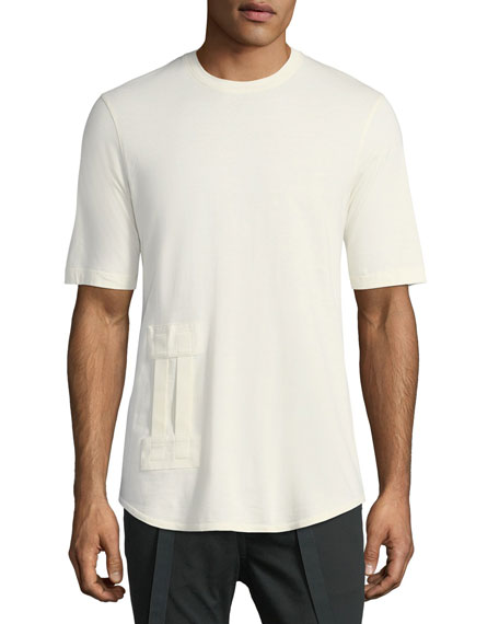 Helmut Lang Bar Tab Cotton T-Shirt