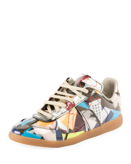 Maison Margiela Men's Replica Trash Low-Top Sneaker