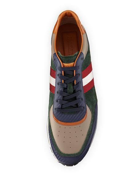 Bally Aston Suede \u0026 Leather Running