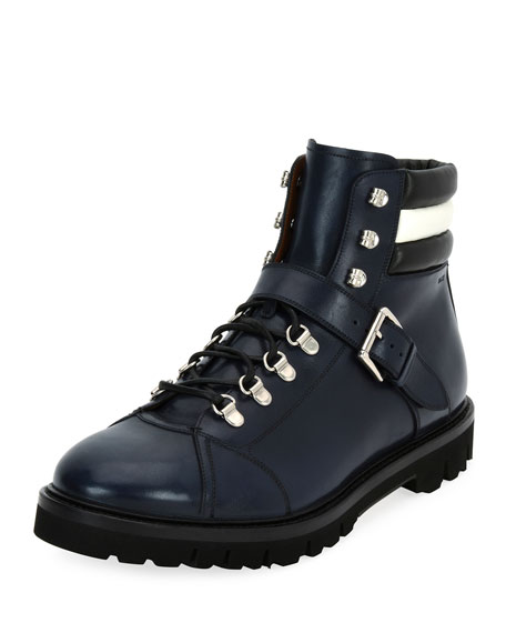 Bally Champions Leather Hiking Boot