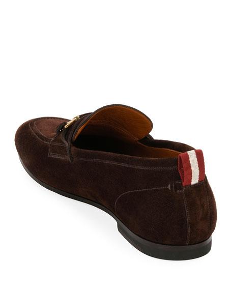 Plintor Suede Bit-Strap Loafer