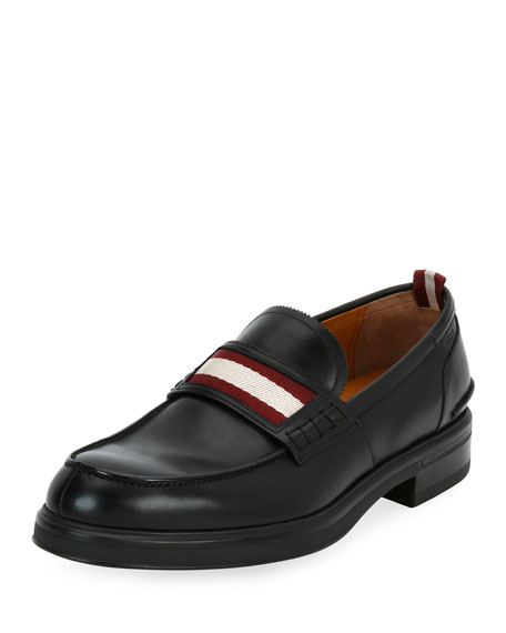 Bally Morkan Trainspotting Leather Penny Loafer