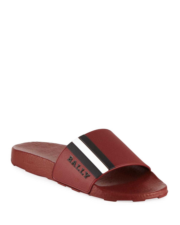 62ac0deaaf3 Quick Look. Bally · Saxor Rubber Slide Sandal