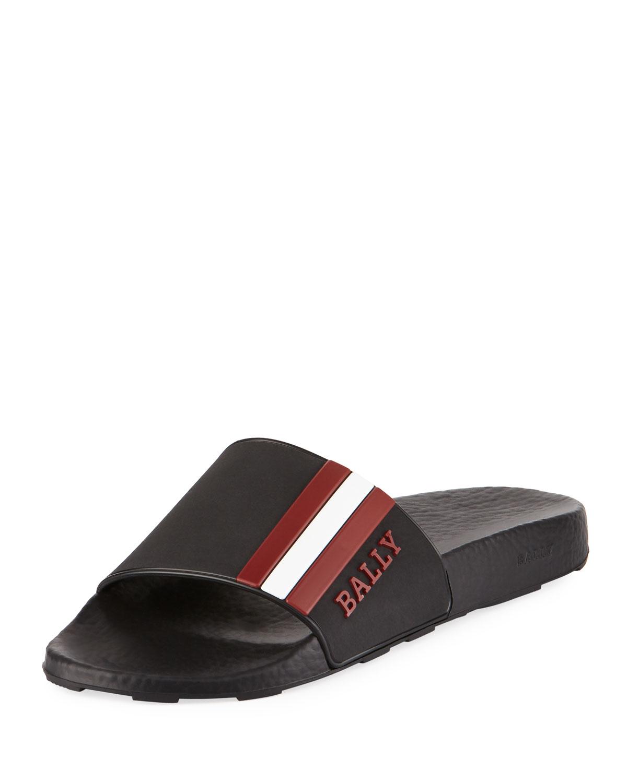238b0e4f6 Bally Saxor Rubber Slide Sandal